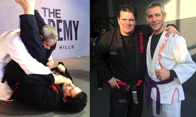 BJJ Master Rigan Machado in Los Angeles