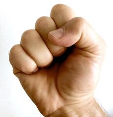 Self-Defense Power Fist!