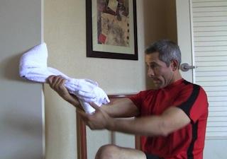 Towel Workout For Martial Arts Home Training Sensei Ando