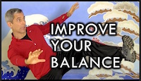 Balance Tip for Kicking
